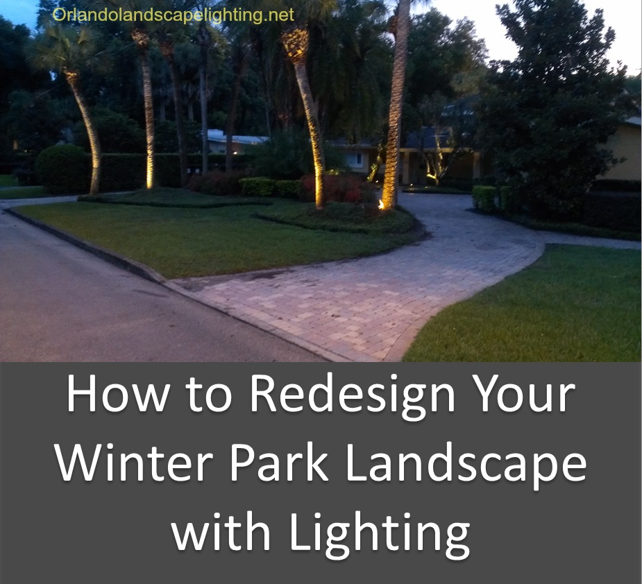 How to Redesign Your Winter Park Landscape with Lighting