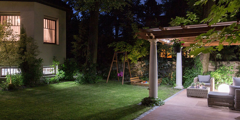 How Will a Landscape Lighting Design Affect My Home's Value?