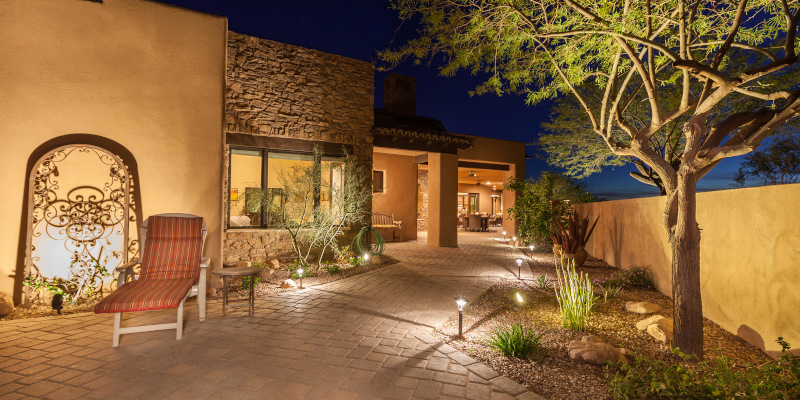Outdoor Home Lighting in Orlando, Florida