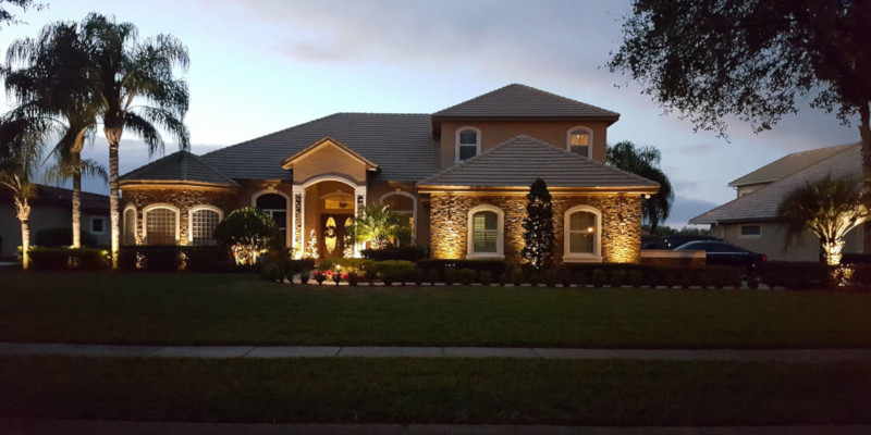 Outdoor Landscape Lighting in Orlando, Florida