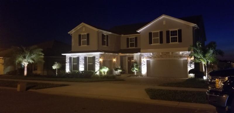 Outdoor Lighting in Orlando